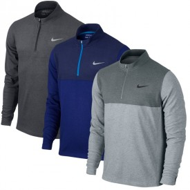 Nike 1/2 Zip Dri-Fit Wool Sweaters
