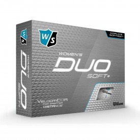 Wilson Duo Soft + Womens Golf Balls