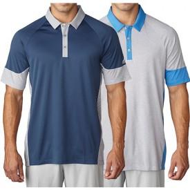 Adidas Climachill Dot Print Polo Shirts