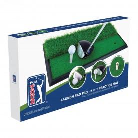 PGA Tour Launch Pad Pro 2 In 1 Mat