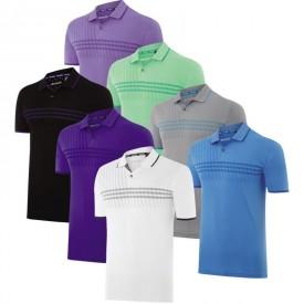 Adidas 3 Stripes Deboss Polo