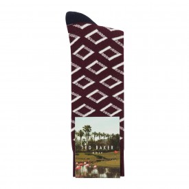 Ted Baker Golf Diamsok Geo Socks