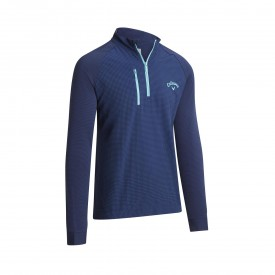 Callaway Printed Mixed Media Pullovers