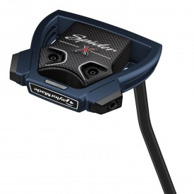 TaylorMade Spider X Midnight Blue White Single Bend Putter