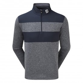 Footjoy Flat Back Rib Woven Chill-Out Pullover