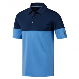 adidas Ultimate 365 Heather Blocked Polo