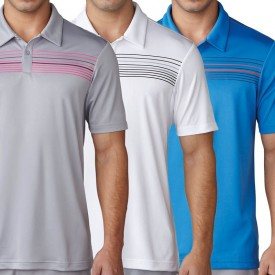 Adidas Climacool Chest Print Polo Shirts