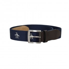 Original Penguin Printed Cotton Web Belts