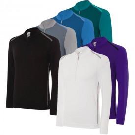 Adidas Birdseye Fleece 1/2 Zip Tops