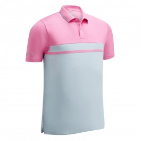 Callaway Colour Blocked Pique Polo Shirts