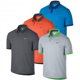 Nike Modern Fit Transition Heather Polos