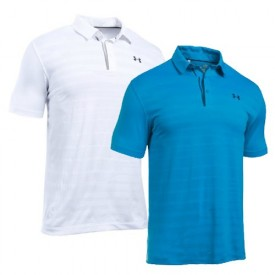 Under Armour Coolswitch Jacquard Polo Shirts