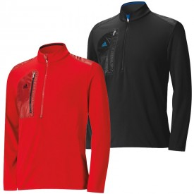 Adidas Climaheat Sport Performance Lightweight Half Zip Layering Jackets