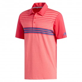 adidas Ultimate 365 3 Stripes Heather Polo