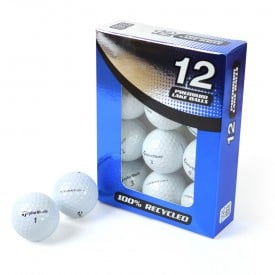 Second Chance TaylorMade Mix Of Recycled Golf Balls