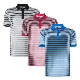 Callaway Chev Stripped Polo Shirts