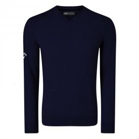 Callaway V-Neck Blended Merino Sweaters