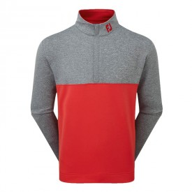 Footjoy Jersey Knit Colour Block Chill-Out Pullovers