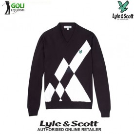 Lyle & Scott Graphic Block Sweaters