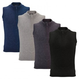 Callaway 1/4 Zip Wool Mix Slipovers