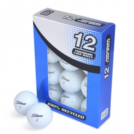 Second Chance Titleist Mix Of Recycled Golf Balls