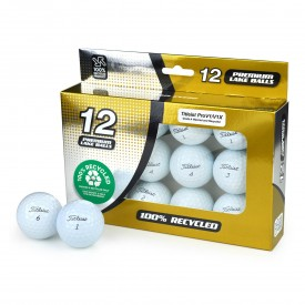 Second Chance Titleist Mix Of Pro V1 & Pro V1X Recycled Golf Balls