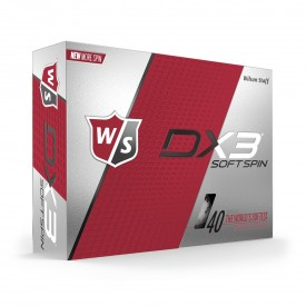 Wilson Staff DX3 Soft Spin Golf Balls
