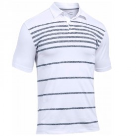 Under Armour Coolswitch Brassie Stripe Polo Shirts