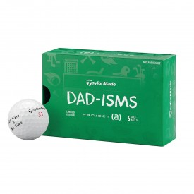 Taylormade Project (a) Dad-isms 6 Pack Golf Balls