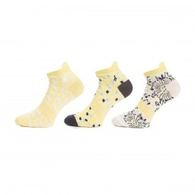 Green Lamb Patterned Socks - 3 Pairs