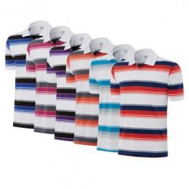 Adidas ClimaLite Merch Stripes Polos