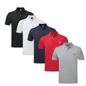 Footjoy Stretch Pique with FJ Chest Logo Polo Shirts