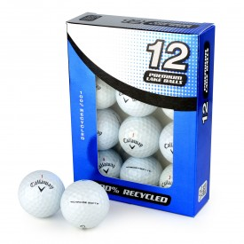 Second Chance Callaway Mix Of Chrome Soft & Chrome Soft X Recycled Golf Balls