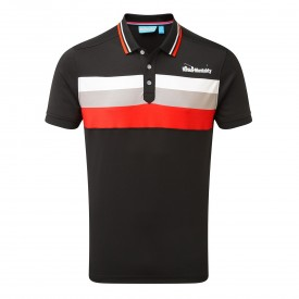 Bunker Mentality Triple Stripe Polo Shirts