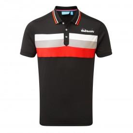 Bunker Mentality Triple Stripe Polo Shirts