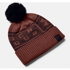 Under Armour Big Logo Pom Beanies