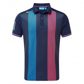 Bunker Mentality Vertical Pinstripe Polo Shirts