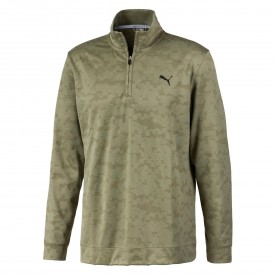 Puma Alterknit Camo 1/4 Zip Sweater