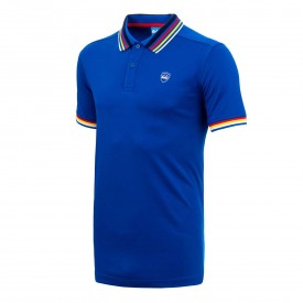 Bunker Mentality Multi Stripe Tech Polo