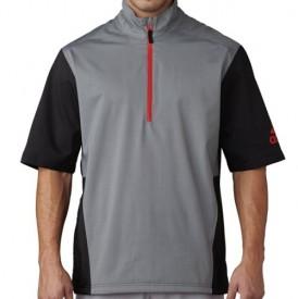 adidas Short Sleeve Climaproof Heathered Rain Jackets