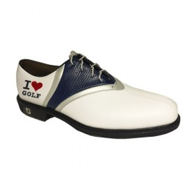 Foojoy Icon V Saddle Laced Golf Shoes