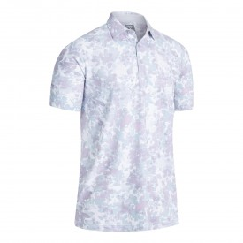 Callaway Soft Focus Floral Polo Shirts