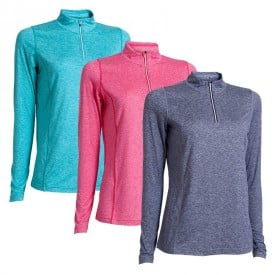 Backtee Ladies Melange Base Layers