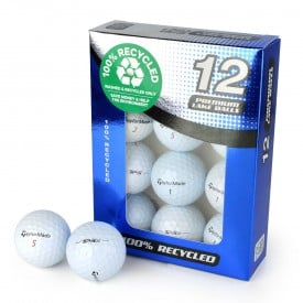 Second Chance TaylorMade Mix Of TP5 & TP5X Recycled Golf Balls