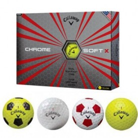 Clearance Callaway Chrome Soft X Golf Balls