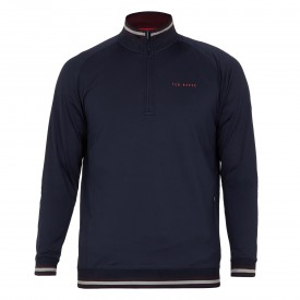 Ted Baker Golf Half Zip Funnel Neck
