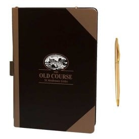 St Andrews Notebook with Pen