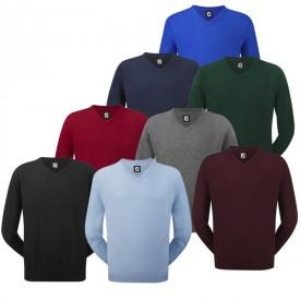 Footjoy Merino Wool V-Neck Pullovers