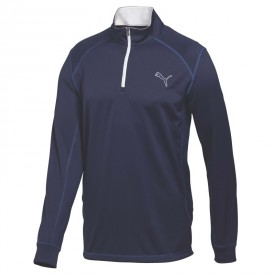 Puma Junior Long Sleeve 1/4 Zip Tops