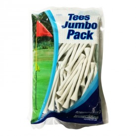 Wooden Golf Tees Jumbo Pack